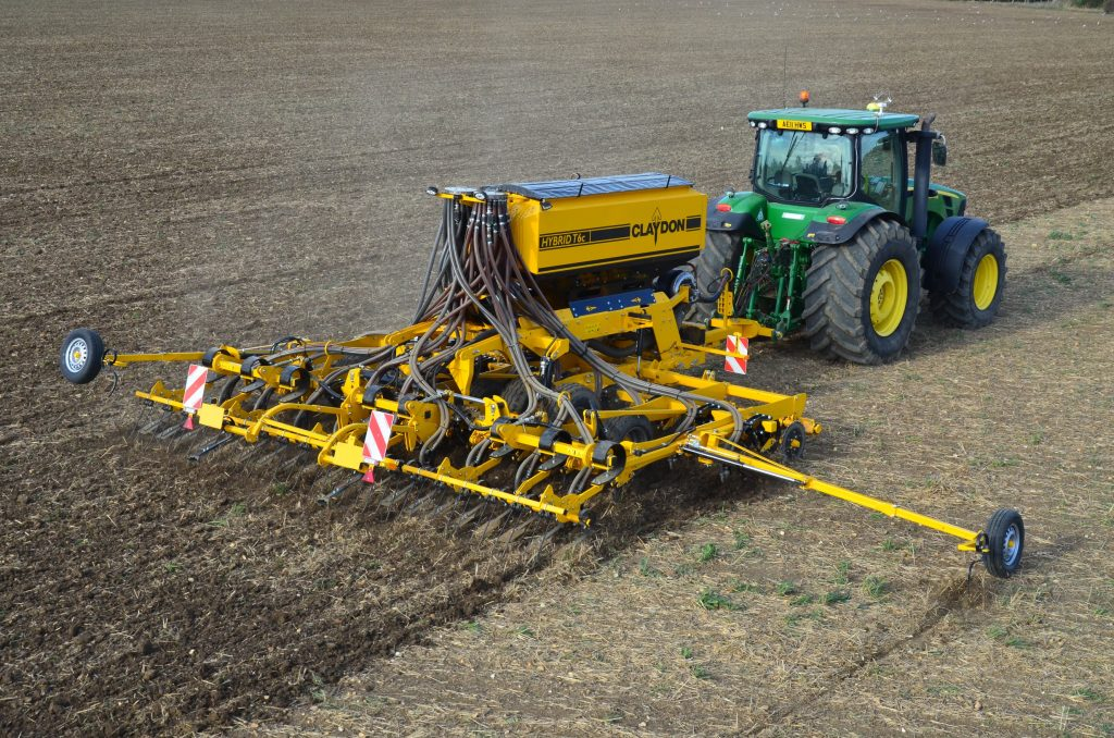 Claydon's new compact 6m trailed drill to be launched at